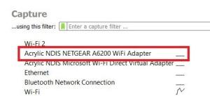 Wireshark Capture Interfaces